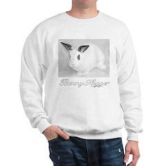 White Bunny Hugger Sweatshirt