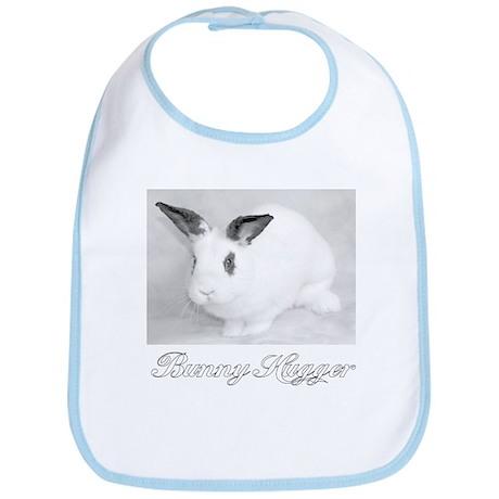 White Bunny Hugger Bib