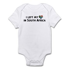Left my heart in South Africa Infant Bodysuit