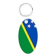 Solomon (nexus) Aluminum Oval Keychain