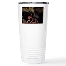 Olive baboon (Papio anubis), gr Travel Mug