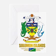 Solomon Islands COA (Flag 10)2 Greeting Card