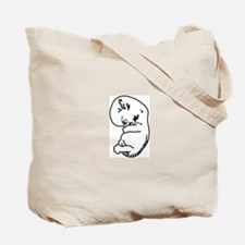 Tiny embryo (first trimester) Tote Bag