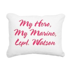 lcp watson Rectangular Canvas Pillow