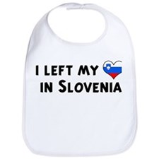 Left my heart in Slovenia Bib
