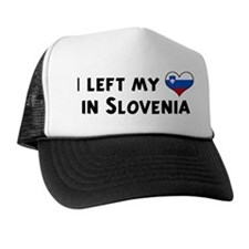 Left my heart in Slovenia Trucker Hat