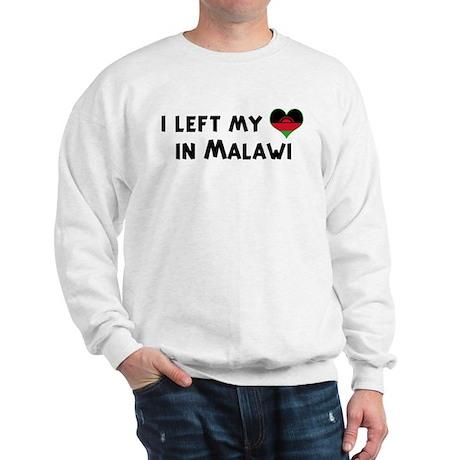 Left my heart in Malawi Sweatshirt
