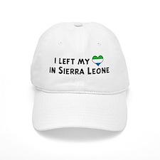 Left my heart in Sierra Leone Baseball Cap
