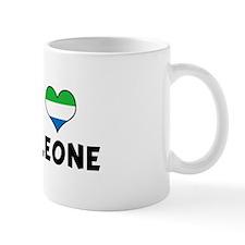 Left my heart in Sierra Leone Mug