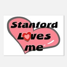 stanford loves me  Postcards (Package of 8)