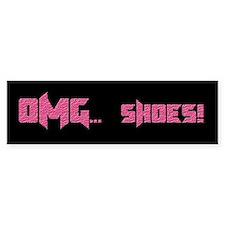 OMG Shoes 1.0 Bumper Bumper Sticker