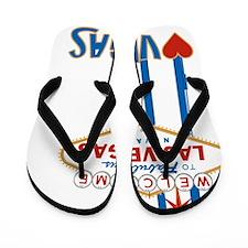 LasVegas_10_10_WelcomeSign_Colorful Flip Flops