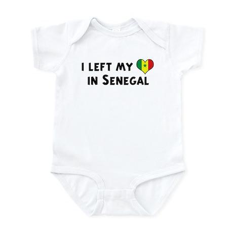 Left my heart in Senegal Infant Bodysuit