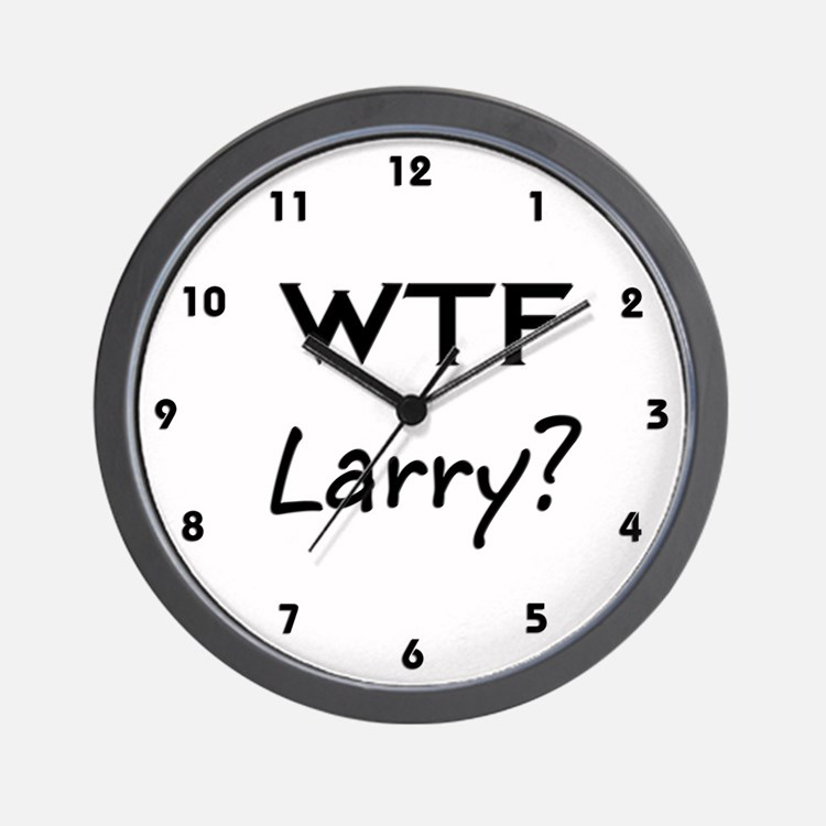 Larry Wall Clock