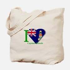 I love Cayman Islands Tote Bag