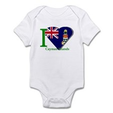 I love Cayman Islands Infant Bodysuit