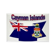 The Cayman flag ribbon Rectangle Magnet