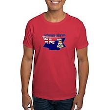 The Cayman flag ribbon T-Shirt