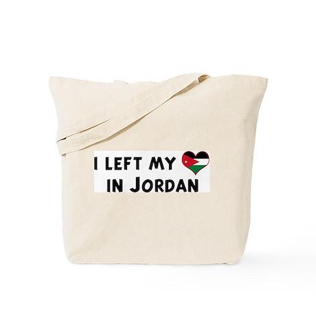 Left my heart in Jordan Tote Bag