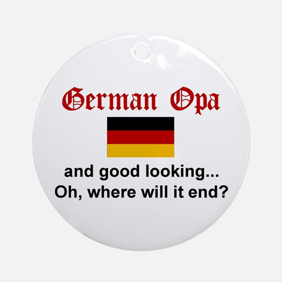 German Opa-Good Lkg Keepsake Ornament