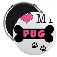 dogboneILOVEMY Magnet