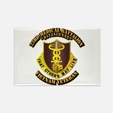 Army - 23rd Medical Battalion Rectangle Magnet