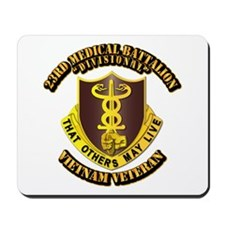 Army - 23rd Medical Battalion Mousepad