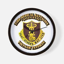 Army - 23rd Medical Battalion Wall Clock