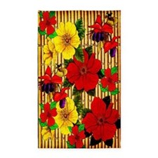 Bamboo Flowers 3'x5' Area Rug