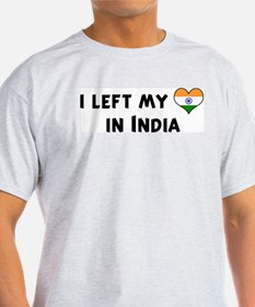 Left my heart in India T-Shirt