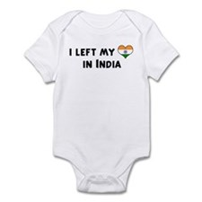 Left my heart in India Infant Bodysuit