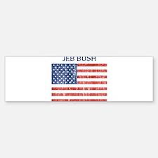 JEB BUSH (Vintage flag) Bumper Bumper Bumper Sticker