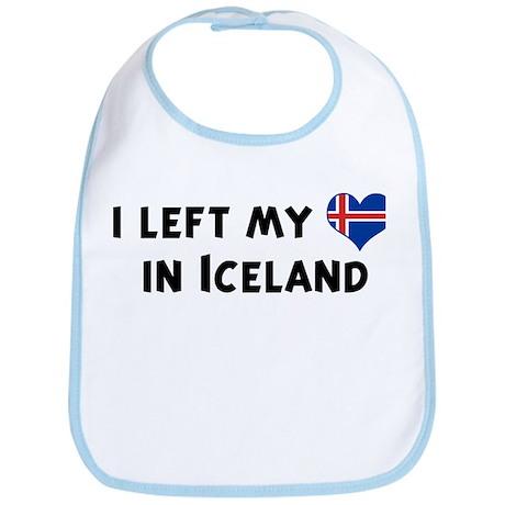 Left my heart in Iceland Bib