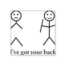 "i got your back cu ochi Square Sticker 3"" x 3"""