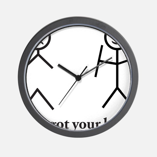 i got your back cu ochi Wall Clock