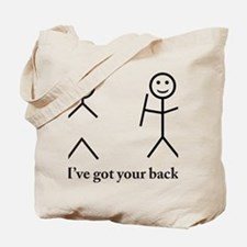 i got your back cu ochi Tote Bag