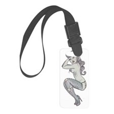 zombie girl ps Luggage Tag