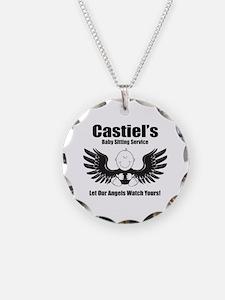 Castiel's Sitting Service Necklace
