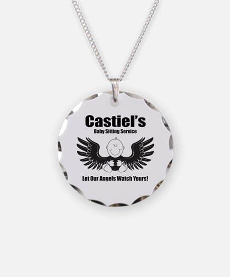 Castiel's Sitting Service Necklace