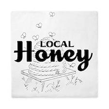 local honey2 Queen Duvet