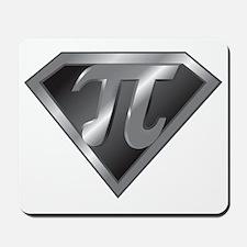 Super Pi - math super hero Mousepad