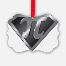 Super Pi - math super hero Ornament