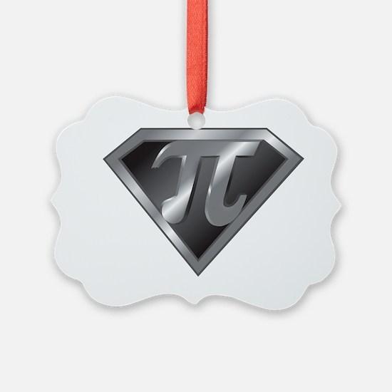 Super Pi - math super hero Ornament