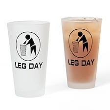 leg-day-bin Drinking Glass