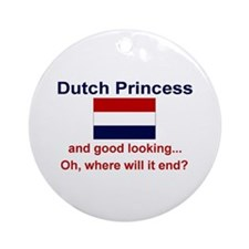 Dutch Princess Keepsake Ornament