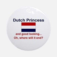 Dutch Princess Keepsake Ornament
