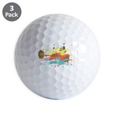 The Horse Race Golf Ball