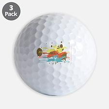 The Horse Race Golf Balls