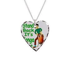 CongaDude Necklace Heart Charm