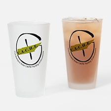 CacheLogo Drinking Glass